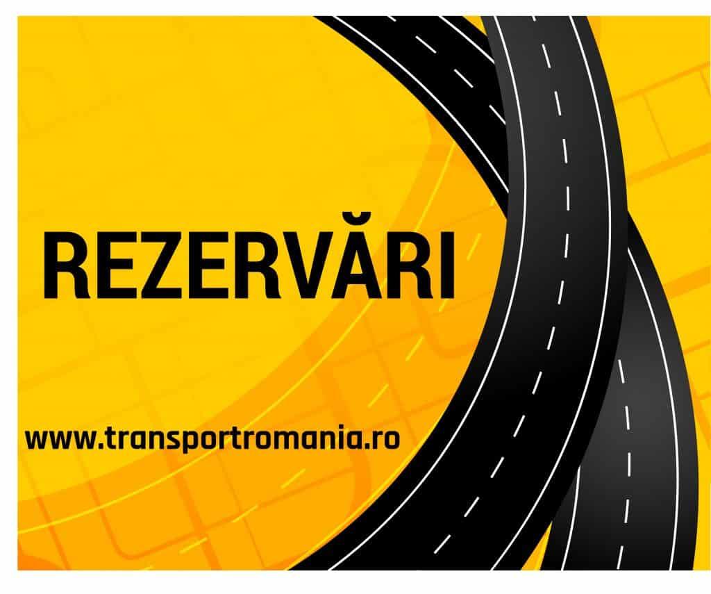 Rezervări Transport România